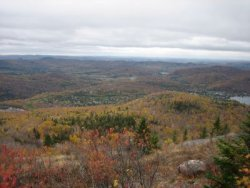 Aussicht von Mont Tremblant