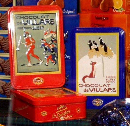 Boîtes Cadeaux Chocolat Villars