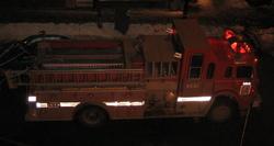 Camion de pompiers de Montréal
